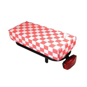 PORTE-BAGAGES VÉLO Coussin HOOODIE Big Cushie Pink Checker pour porte