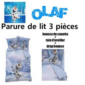 taie oreiller olaf achat vente taie oreiller olaf pas cher cdiscount. Black Bedroom Furniture Sets. Home Design Ideas