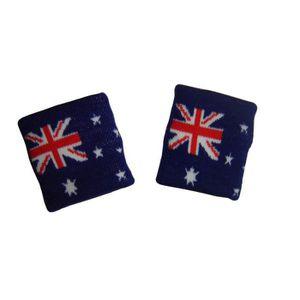 POIGNET ÉPONGE Lot 2 Bracelets poignet éponge 100% coton AUSTRALI