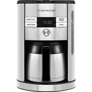 CAFETIÈRE Cafetière filtre inox isotherme