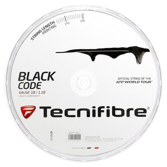 Tecnifibre Bobine 200m Black Code 4S 1.25