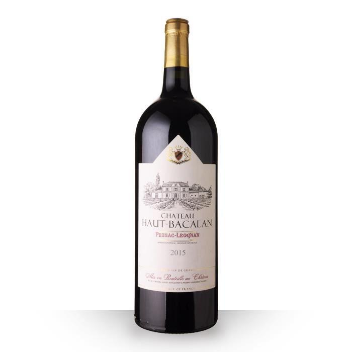 Magnum Château Haut-Bacalan 2015 AOC Pessac-Léognan - 150cl - Vin Rouge