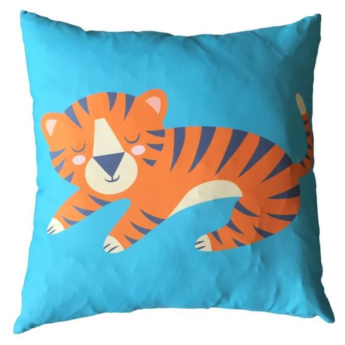 Coussin Zooniverse 50 x 50cm - TigreCOUSSIN