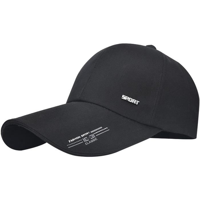 Casquette Visière Longue Sports Unisexe Séchage Rapide Chapeau de Soleil Lègére Respirant pour Pêche 5 Couleurs[869]