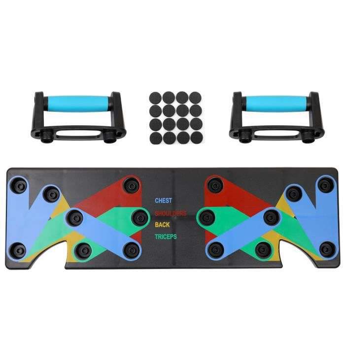 Multifonction Ménage Push Up Rack Board 9 Système Complet Fitness Workout Push-up Stands Body Building Training GYM
