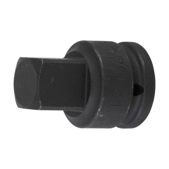 Adaptateur de clé à douille à choc femelle 20 mm (3/4-) - mâle 25 mm (1-)