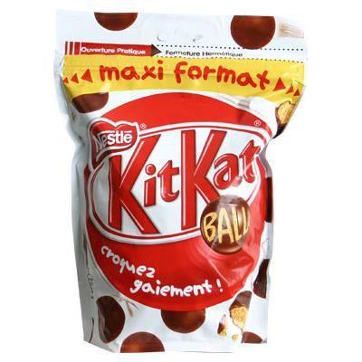 NESTLE KitKat Ball Bonbons de chocolat au lait - 400 g