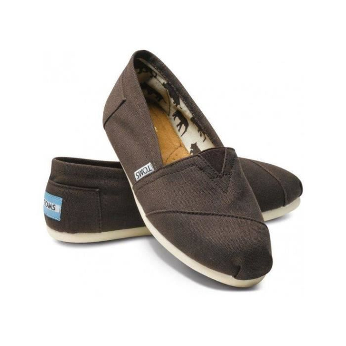 TOMS Classics, Espadrille femme - marron/chocolate brown