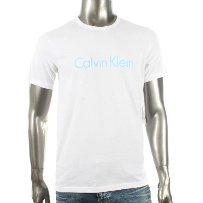 Polo - Calvin Klein - Tee-Shirt Calvin Klein blanc