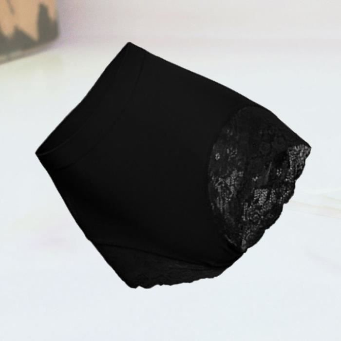 High Waist Underpants Women Abdomen Control Hip Lifting (Black) BRASSIERE DE SPORT - SOUTIEN-GORGE DE SPORT