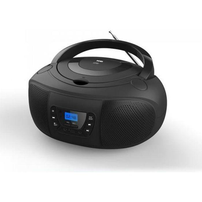 Lecteur Radio CD - MP3 Noir - WERADCDTELN