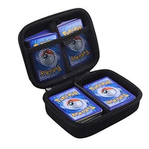 JEU D'ADRESSE Hard Case For Pokemon Trading Cards. Fits Up To 40