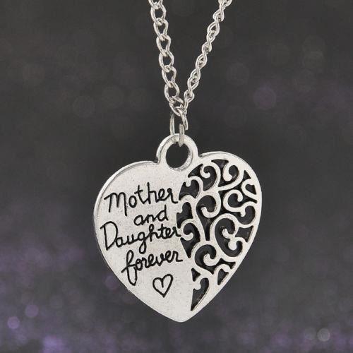 Fashion Maman et Bébé Ours Keychain Porte-clés Pendentif en Argent Bijoux Mère Cadeau 1pc
