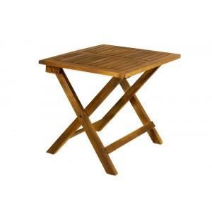Table d 39 appoint de jardin en bois achat vente table de for Habitat table de jardin