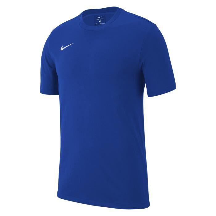T-SHIRT MAILLOT DE SPORT T-Shirt Nike Team Club 19 Enfant Unisexe Bleuroy