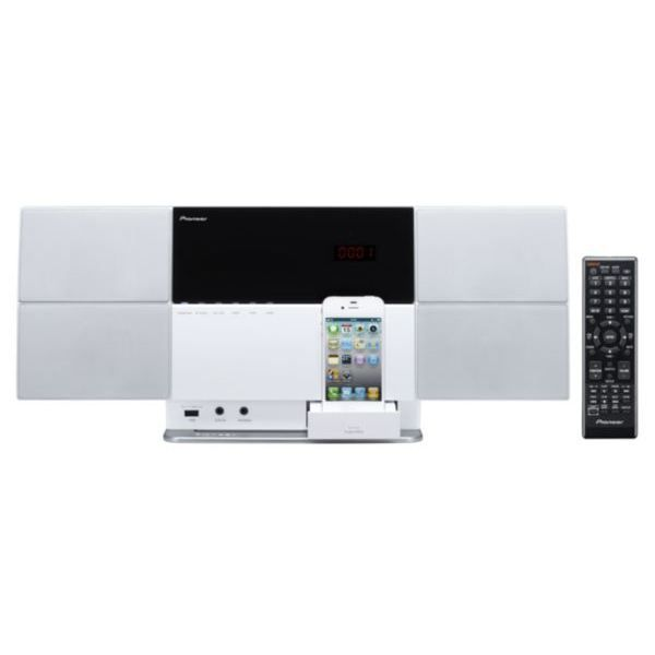 micro cha ne pioneer x smc1 w white chaine hi fi prix. Black Bedroom Furniture Sets. Home Design Ideas