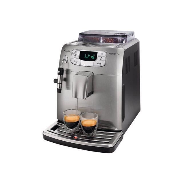 Expresso broyeur saeco hd8752 85 intelia evo cl achat vente machine ex - Machine a cafe broyeur ...