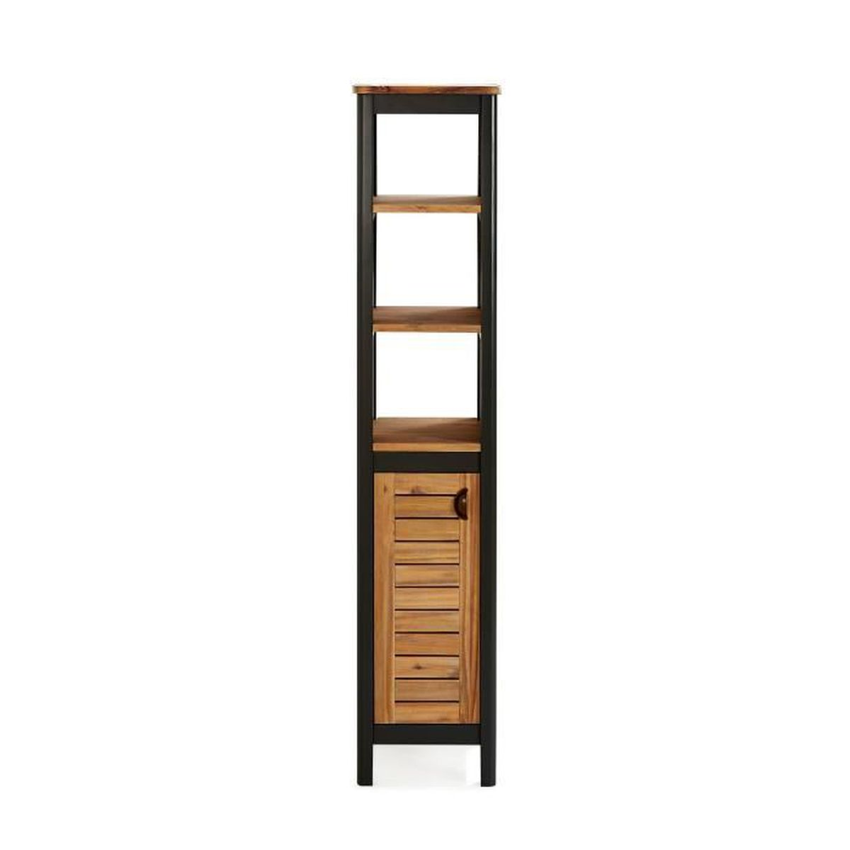 pitaya colonne de salle de bains en acacia massif 120cm. Black Bedroom Furniture Sets. Home Design Ideas