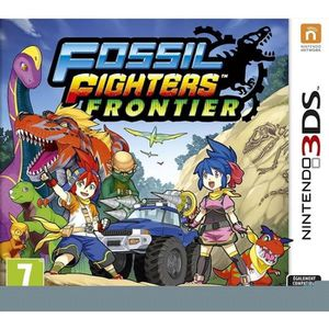 JEU 3DS Fossil Fighters Frontier - Jeu Nintendo 3DS
