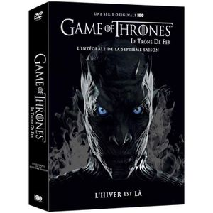 DVD SÉRIE Coffret DVD Game of Thrones : Saison 7