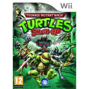 JEU WII TORTUES NINJA : Smash-Up / JEU CONSOLE NINTENDO WI