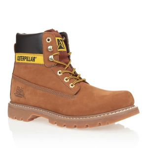 CATERPILLAR Bottines Colorado Cuir Chaussures Homme