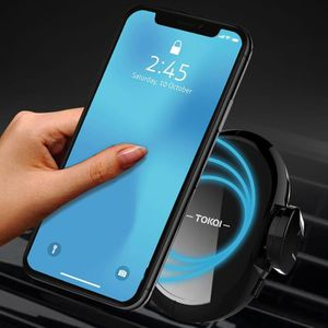 CHARGEUR CD VOITURE Qi Wireless chargeur de voiture Mount Holder Magne