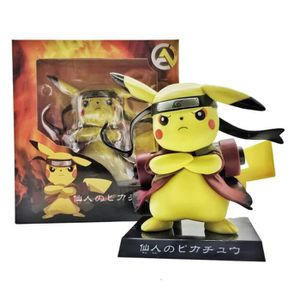 FIGURINE - PERSONNAGE Pokémon Figurine - pikachu NARUTO Sage Mode 13cm
