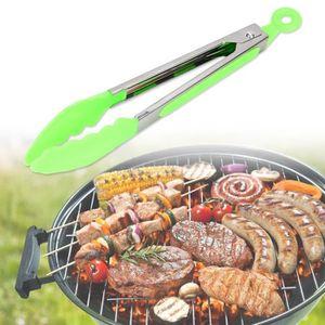 ACCESSOIRES 2pcs pinces de barbecue utilitaire cuisson résista