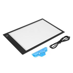 TABLE A DESSIN MEIHESHOP Table A Dessin Lumineuse A4 LED USB Tact