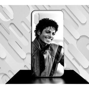 Coque Samsung Galaxy A50 Michael Jackson Blanc taille unique
