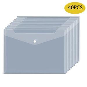 Protège-document 40PcsPochette Porte Document A4 - Pochette Dossier