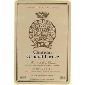 VIN ROUGE Château Gruaud Larose - Saint-Julien 1999 2ème Cru