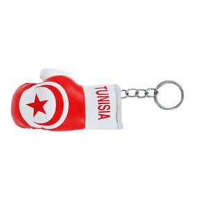 PORTE-CLÉS Porte cles  gant de boxe drapeau tunisie
