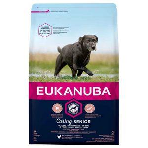 CROQUETTES Eukanuba - Croquettes Caring SENIOR Large Poulet p