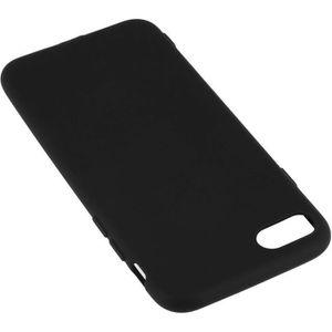 Coque iphone 7 silicone noir - Cdiscount
