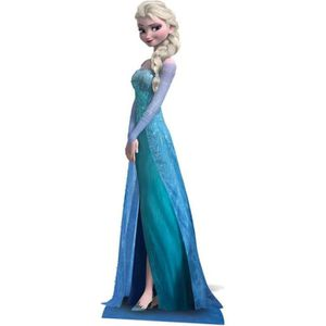 Déco de fête murale Figurine Géante Elsa