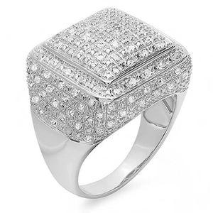 achat bague diamant homme
