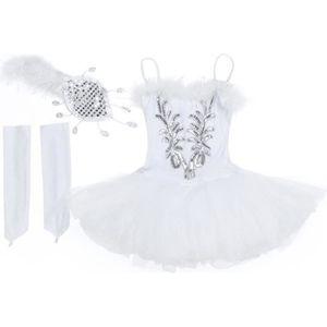 JUPETTE DE DANSE Enfant Fille Tutu Ballerine Danse Classique Robe d
