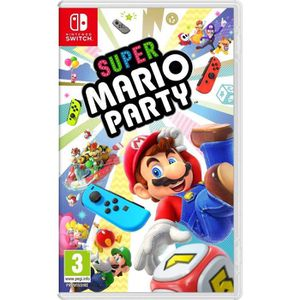 JEU NINTENDO SWITCH Super Mario Party Switch + 1 Porte Clé + 1 Mochy
