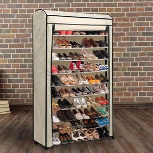 Meuble a chaussures 50 paires achat vente meuble a - Housse rangement chaussures ...