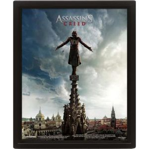CADRE PHOTO Cadre 3D Assassin's Creed