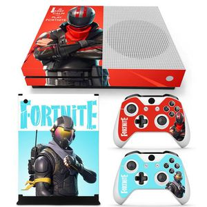 STICKER - SKIN CONSOLE Xbox One S Fortnite Battle Royale Housse d'autocol
