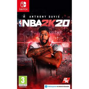 JEU NINTENDO SWITCH NBA 2K20 Jeu Switch + 1 Skull Sticker Offert