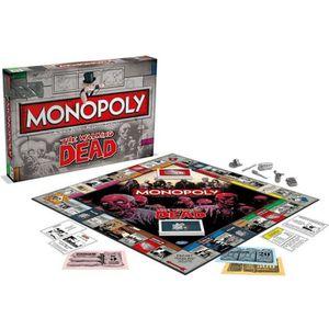 JEU SOCIÉTÉ - PLATEAU WALKING DEAD Monopoly