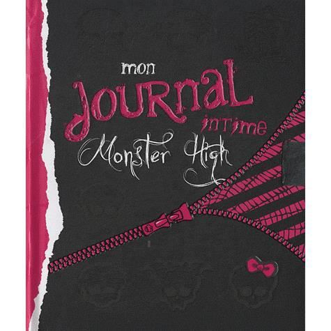 Mon journal intime monster high achat vente livre hachette jeunesse hachette jeunesse - Livre de monster high ...