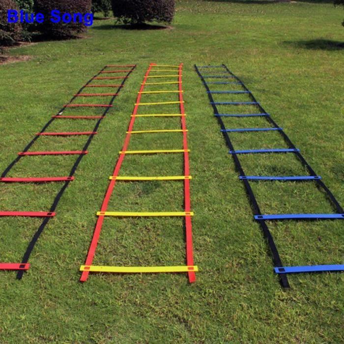 Échelle d'agilité de football pour l'équipement de formation de vitesse de football