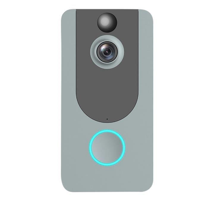 KIT CAMERA DE SURVEILLANCE - PACK VIDEOSURVEILLANCE - Sonnette vidéo WIFI Sonnette intelligente 1080P HD Wifi Caméra de sécurité