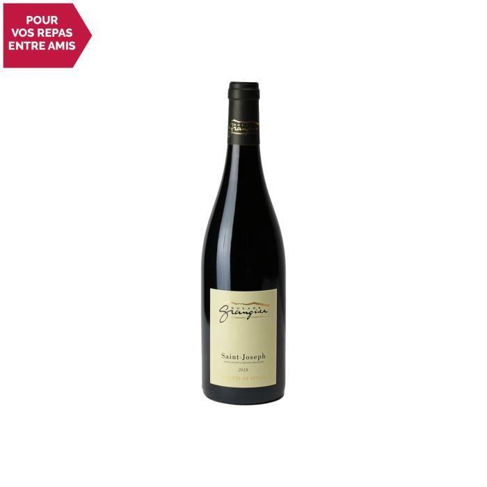Saint-Joseph Reflets de Syrah Rouge 2018 - 75cl - Domaine Roland Grangier - Vin AOC Rouge de la Vallée du Rhône - Cépage Syrah