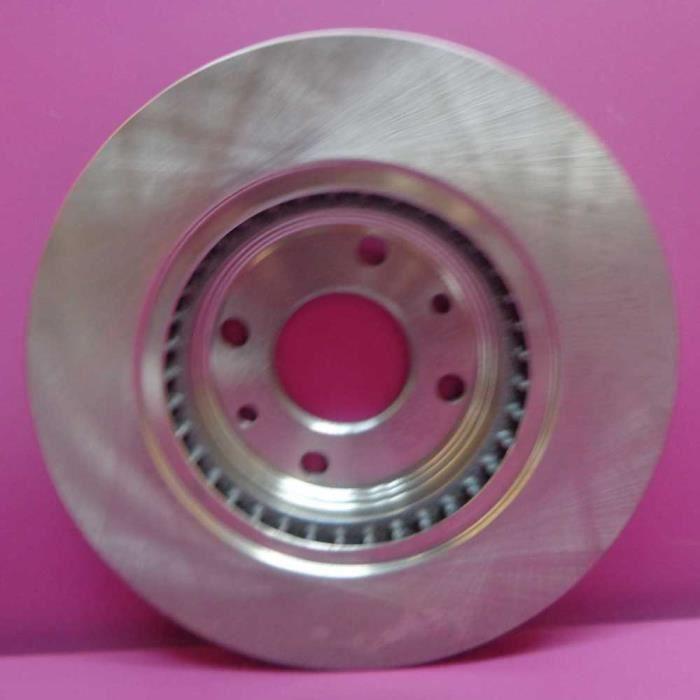 Jeu de disques de freins avant pour Dacia Sandero II 1.2 Lpg